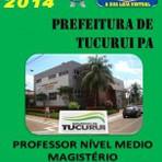 Apostila Prefeitura Municipal de Tucurui PA Professor Nivel Medio Magisterio 2014 - Apostilas Concurso Publico
