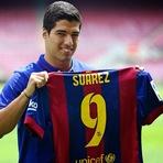 Futebol - Apresentação de Luis Suárez