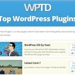 Blogosfera - Descubra o Tema e os Plugins de um Blog WordPress