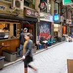 Turismo - Melbourne bate para fora em Sydney em vida e a Alimentação