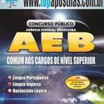 Empregos - Apostila Agência Espacial Brasileira AEB 2014 - Comum aos Cargos de Nível Superior[+CD Grátis]