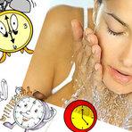 Cuidados com a pele - Limpeza diária do rosto
