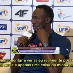 """Esportes - Na Polônia, Bolt confirma desejo de jogar futebol: """"Por que não tentar?"""""""