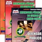 Apostila Defensoria Pública de MG - Defensor Público DPE/MG - Concurso 2014