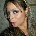 Moda & Beleza - Make roxo com preto - Foto Tutorial