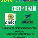 Concursos Públicos - Apostila Concurso Creci 9 Regiao BA Profissional de Suporte Administrativo e Tecnico 2014 - Apostila Do Concurso
