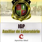 Apostila Digital Concurso IGP SC Instituto Geral de Perícias 2014 Auxiliar de Laboratório