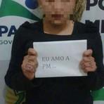 Curiosidades - Polícia do Paraná investiga caso de jovem que teria sido obrigada a posar com frase de apoio à corporação