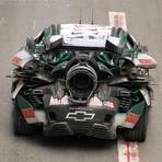 Fotos em HD dos 3 Carros Nascar Transformers 3