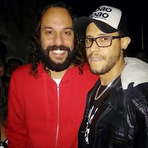 Música - História de Fã - Mike Marçal cantando com Gabriel o Pensador, no show em Franca - SP