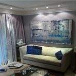 Arquitetura e decoração - Telas para decoração da sala de estar