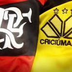 Flamengo vence mais uma| Com gols Eduardo da Silva e Mugni, Flamengo bate o Criciúma fora de casa