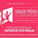 Canal Brasil transmitirá ao vivo o Grande Prêmio do Cinema Brasileiro