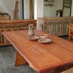 Mesas de jantar rústicas