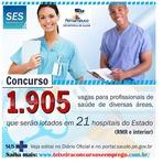 diHITT & Você - Concurso público Sec de Saúde Pernambuco 2014 - para 1.905 vagas