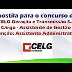 Apostila para o Concurso da CELG para Assistente de Gestão Função: Assistente Administrativo