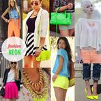 Moda neon continua em alta verão 2015