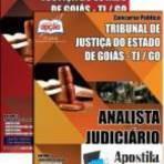 Empregos -  [Apostila Digital] TJ-GO 2014 - Analista Judiciário