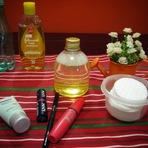 Mulher - Demaquilante caseiro com shampoo Johnson