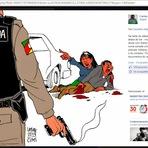Violência - URGENTE -  Índios na luta pelos direitos do cidadão
