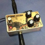 Música - Pedal de Boutique - Overdrive Sonic Titan Handmade Estilo D A M - PRONTA ENTREGA PARA TODO BR