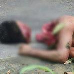Foto mostra presos decapitados após o término da rebelião em presidio de Cascavel Paraná