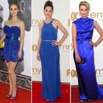 Lindos modelos de vestidos azuis