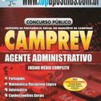 Apostila CAMPREV 2014 - Agente Administrativo[+CD Grátis]