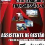 Concursos Públicos -   [Apostila Digital] CELG-GO 2014 - Assistente de Gestão:Assistente Administrativo