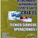 Fotos - Apostila Concurso CREA-ES 2014 - Técnico Serviços Operacionais I - Impressa e Digital