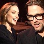 Celebridades - Brad Pitt e Angelina Jolie se casam na França