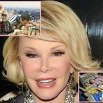 Celebridades - Joan Rivers aquela que quer todos os pelestinos mortos : está em estado crítico depois de parar de respirar!