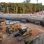 Perícia apontas causas do desabamento de viaduto em Belo horizonte