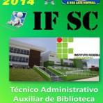 Apostila Concurso IFSC Tecnico Administrativo Auxiliar de Biblioteca 2014