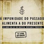 Hoje, dia 28 de agosto, completam-se 35 anos da lei de anistia brasileira.