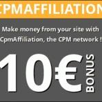 Blogosfera - Rentabilizar seu blog com o CPM Affiliation
