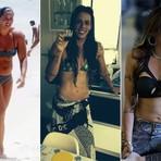 Rebeca Gusmão mostra fases do corpo em fotos: Tinha vergonha