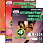 Concursos Públicos - Apostila Concurso Defensoria Pública do Estado / MG 2014