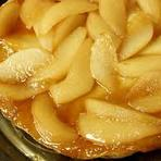 Culinária - Tarte Invertida de Pêssego
