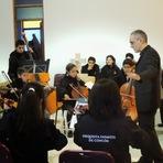 Banda Maestro Aquilino Jarbas de Carvalho faz apresentação na cidade de Concón no Chile