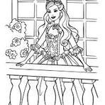 Diversos - Desenhos para colorir da Barbie