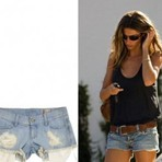 Shorts jeans curtos