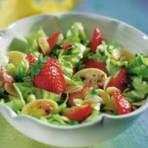 Receita: Salada Primavera de Morangos
