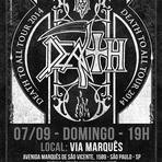 Música - Confira os detalhes para o show do Death em SP