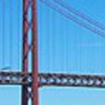 Curiosidades - Ponte 25 de abril  - em Lisboa - eleita a mais bonita da Europa