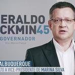 Geraldo Alckmin irrita campanha de Aécio Neves  ao exibir vice de Marina Silva.