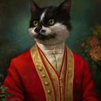 Arte & Cultura - Retratos digitais incríveis de gatos