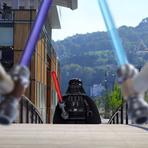 Arte & Cultura - Fotógrafos fazem Star Wars Lego invadirem a cidade de Lyon, na França!