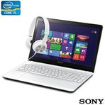 Sony Vaio Fit 15E: ideal para estudantes