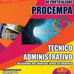Apostila Concurso PROCEMPA - Técnico Administrativo – Assistente nas Diversas Áreas da Empresa